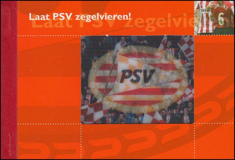 Niederlande Fußball-Markenheftchen PSV 2007, ** postfrisch