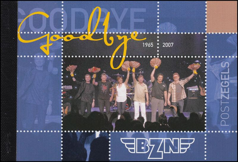 Niederlande Musik-Markenheftchen Goodbye BZN 2007, **