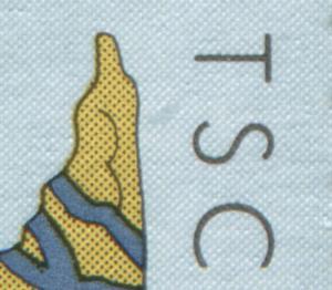 2105I aus Block 52 Nationalpark Hainich mit PLF I grauer Fleck neben dem S, **