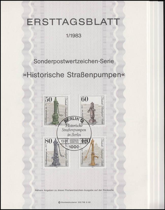 ETB Berlin Jahrgang 1983 Nr. 1 - 9 komplett