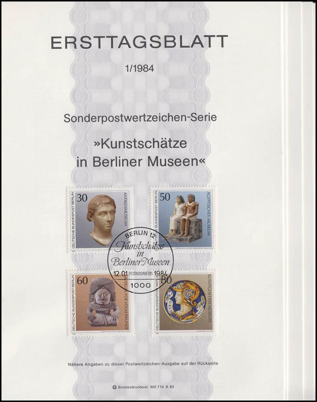 ETB Berlin Jahrgang 1984 Nr. 1 - 11 komplett