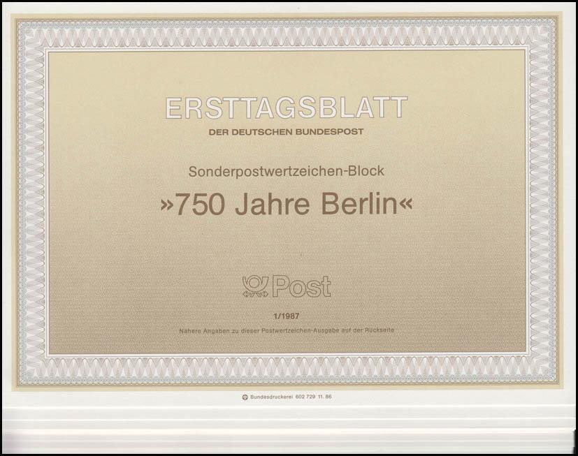 ETB Berlin Jahrgang 1987 Nr. 1 - 13 komplett