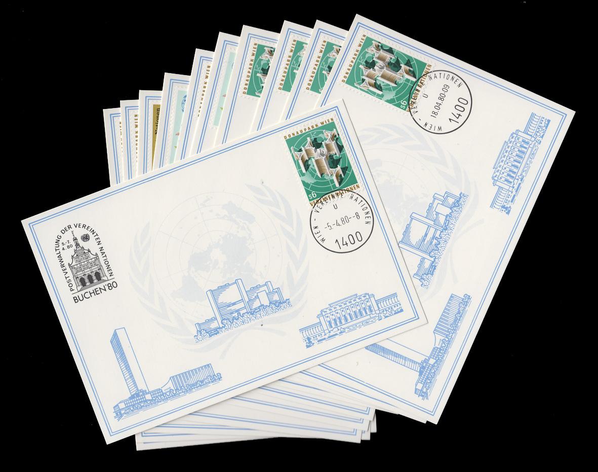 UNO Wien Weiße Karten Jahrgang 1980, Set Nummer 1-11 komplett