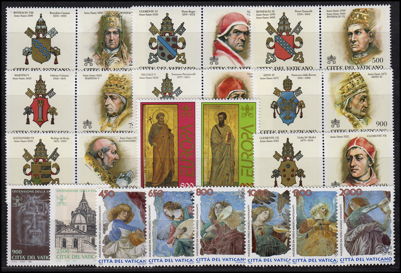 1234-1268 Vatikan-Jahrgang 1998 komplett, postfrisch