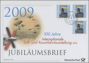 2740 Internationale Luft- und Raumfahrtausstellung ILA 2009 - Jubiläumsbrief