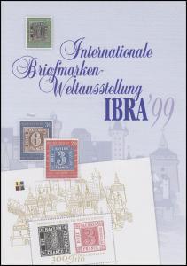 2041 Block 46 Weltausstellung IBRA'99 Nürnberg - EB 2/1999