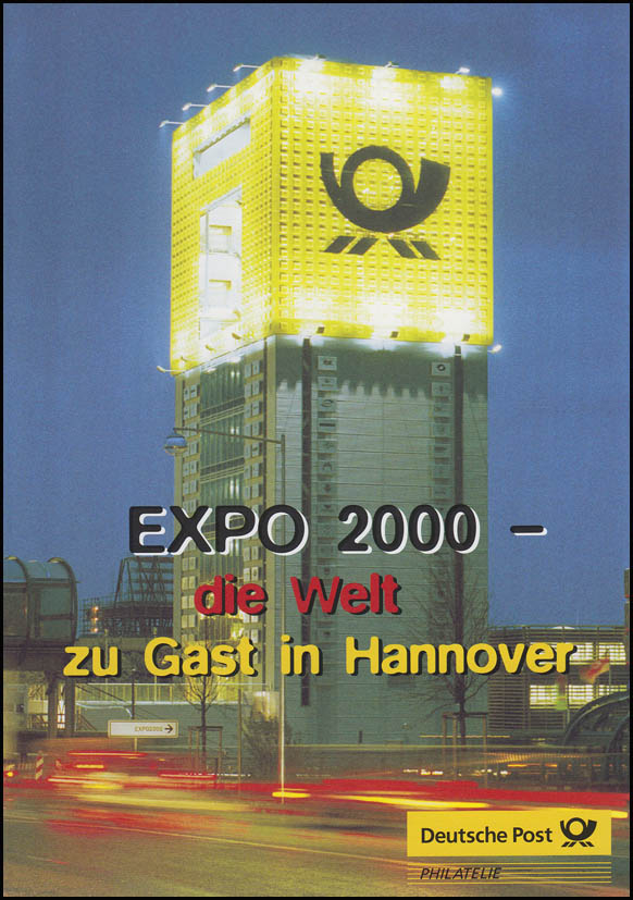 2130 Weltausstellung EXPO 2000 in Hannover - EB 3/2000