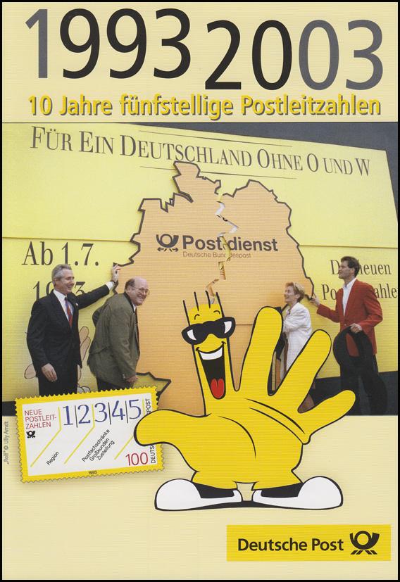 2344 Fünfstellige Postleitzahl -  EB 3/2003
