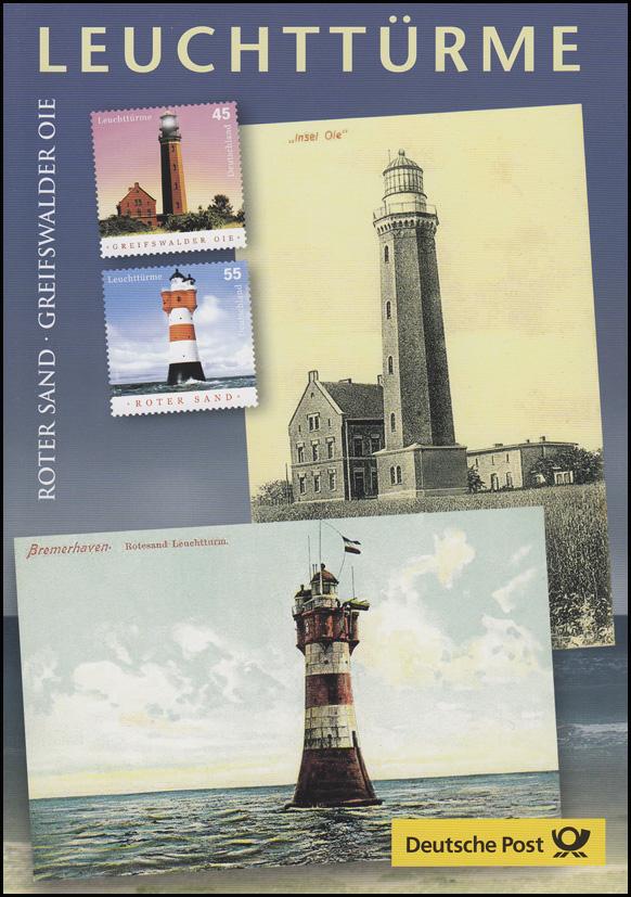 2409-2410 Leuchttürme: Greifswalder Oie & Roter Sand - EB 3/2004
