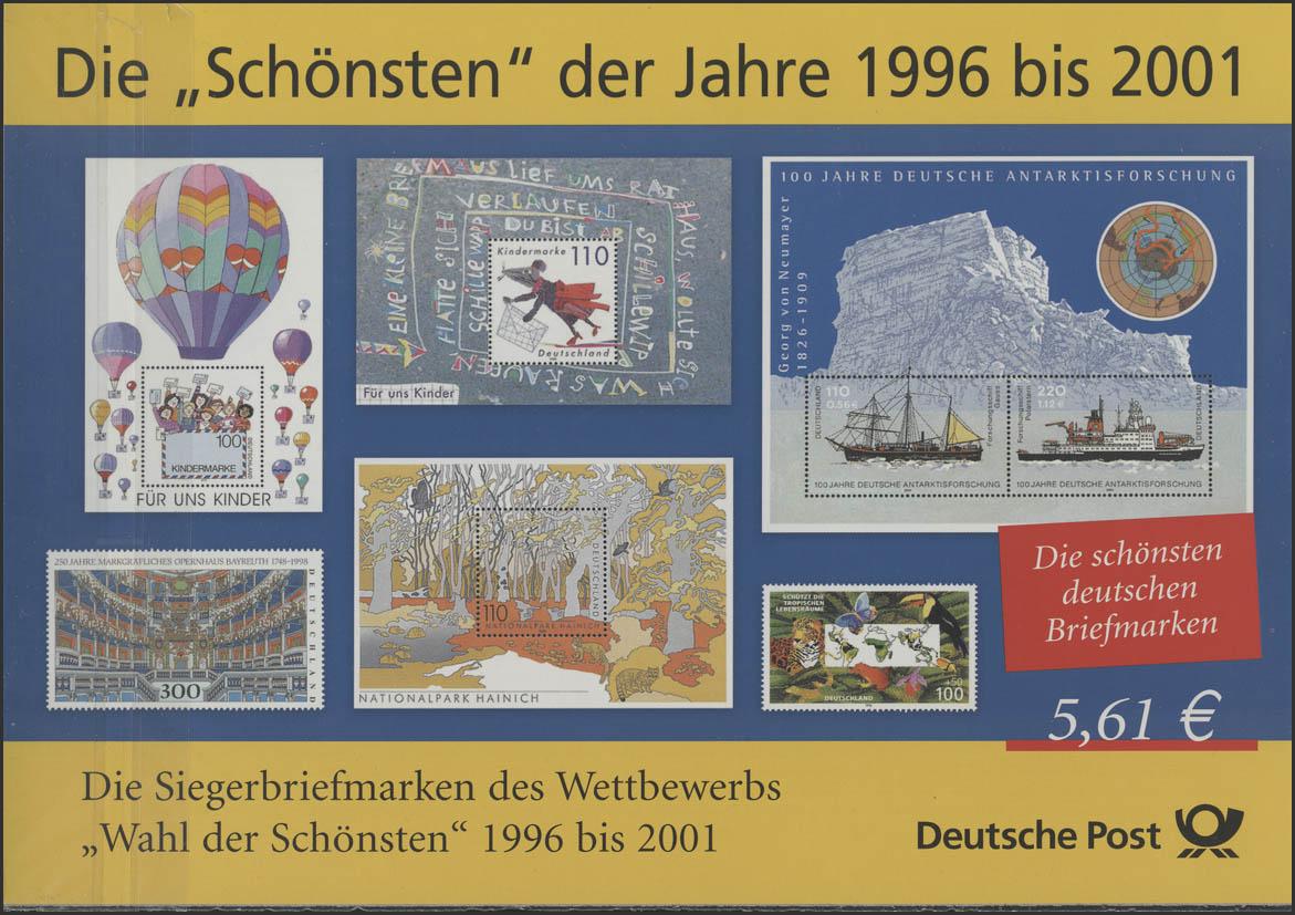 Die Schönsten der Jahre 1996 bis 2001 **