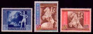 820-822 Europäischer Postkongreß 1942 in Wien - Satz postfrisch **