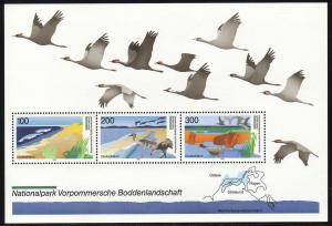 Block 36 Nationalpark Boddenlandschaft 1996, postfrisch **