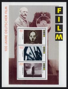 Block 33 Filmblock Deutscher Film (Metropolis, Himmel über Berlin) postfrisch **