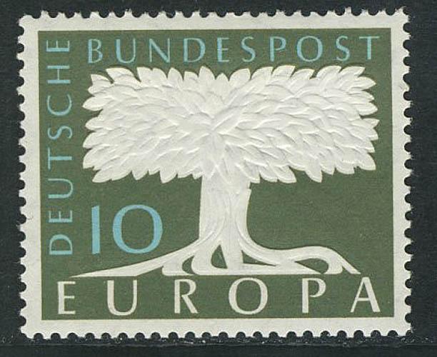 294 Europa 10 Pf mit Wasserzeichen 5 **