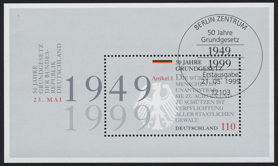 Block 48 Grundgesetz 1999, ESSt Berlin