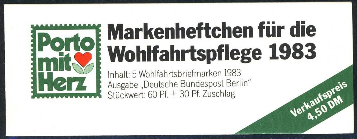 BAGFW/Wofa 1983 Alpenblume - Alpenaurikel 60 Pf, 5x704, ** postfrisch