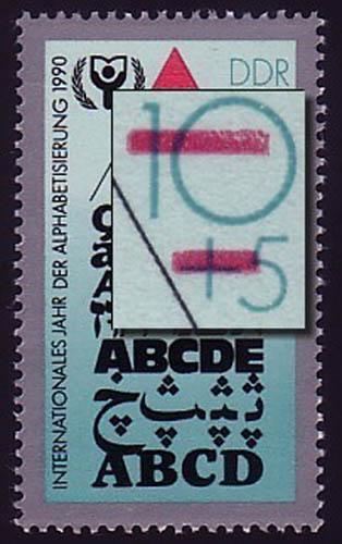 3353I Alphabetisierung: verkürzter Balken, Feld 45 **