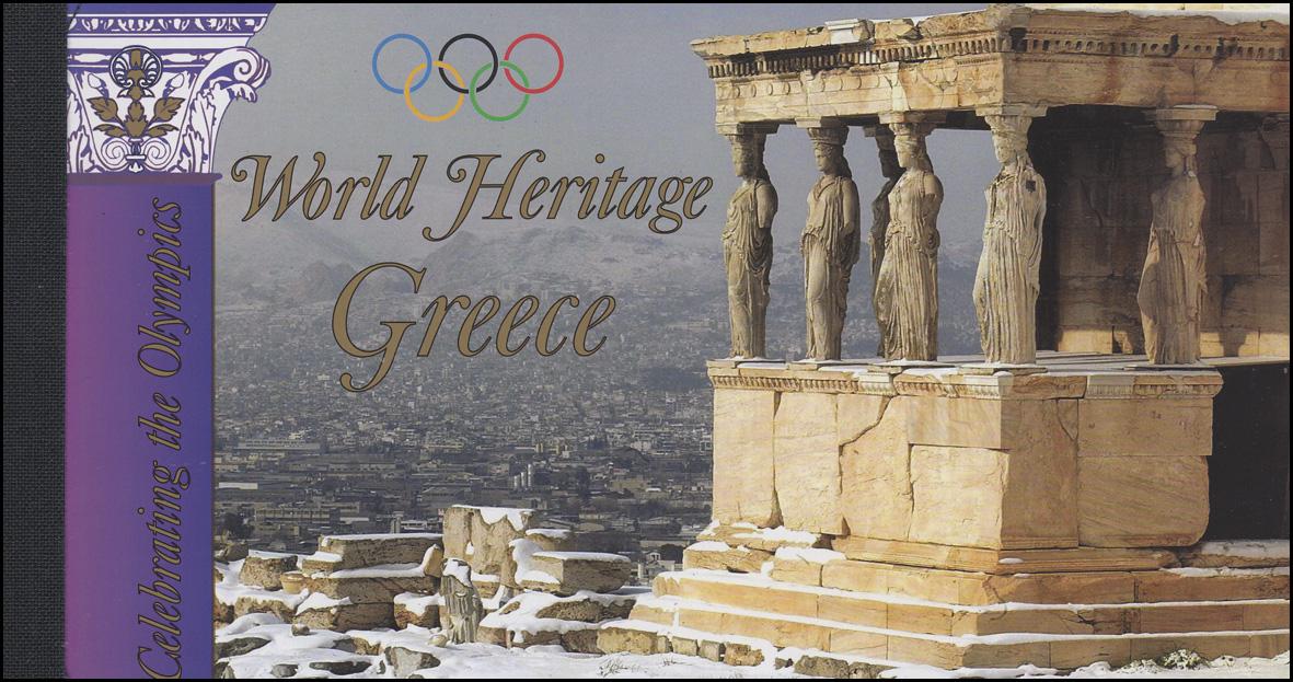UNO New York Markenheftchen 9 Griechenland Greece 2004, ESSt