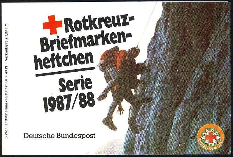DRK/Wofa 1987/88 Gold & Silber - Bursenreliquiar 80 Pf, 6x1336, ESSt Bonn