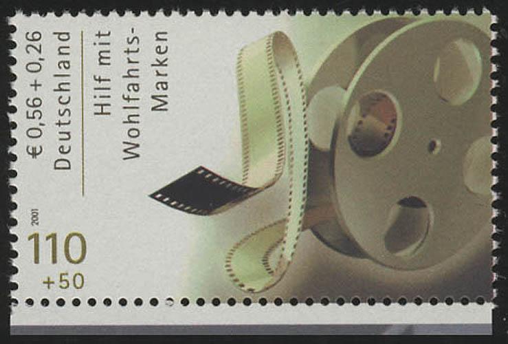 2220C Wofa Filmschauspieler Filmrolle, Zähnung C aus MH, **