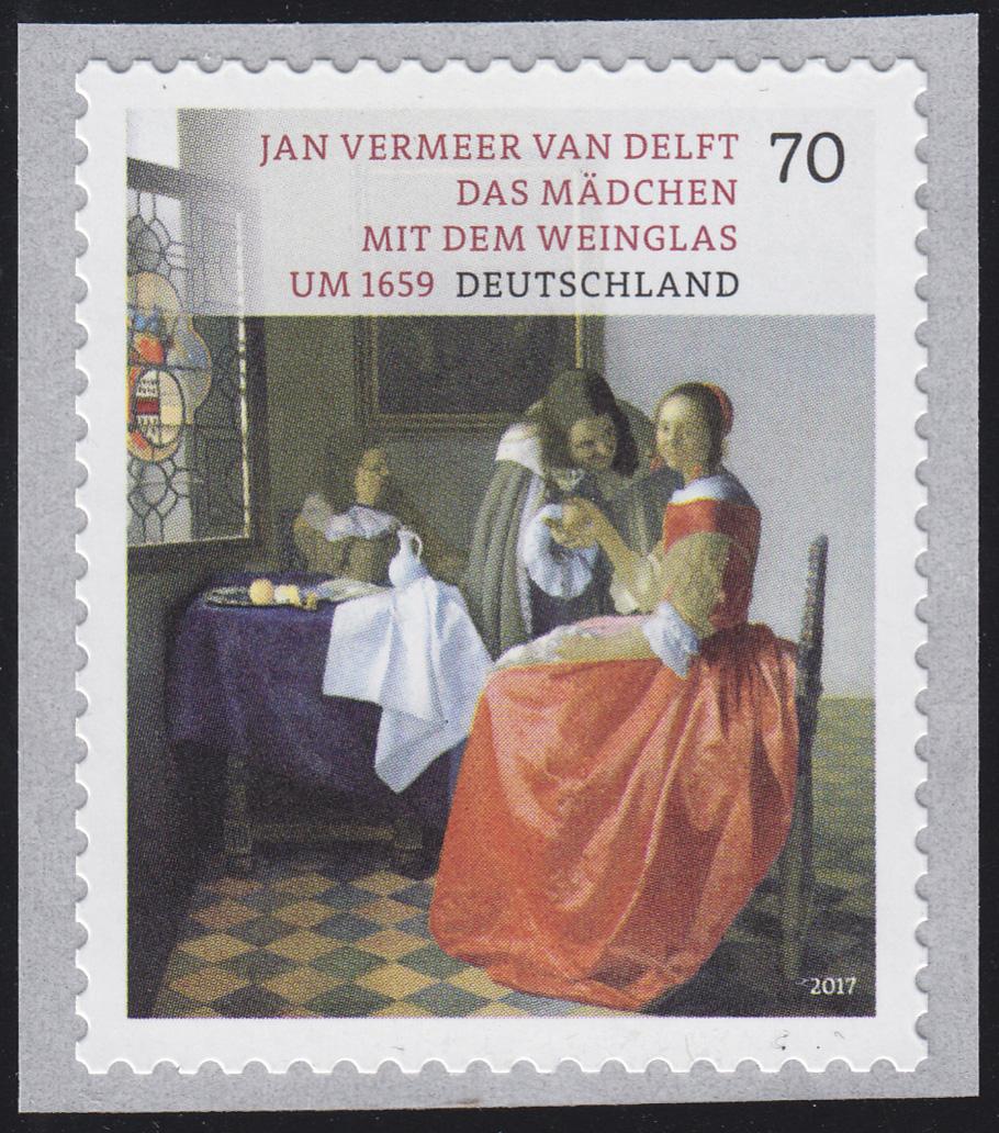 3280 Jan Vermeer van Delft, selbstklebend **