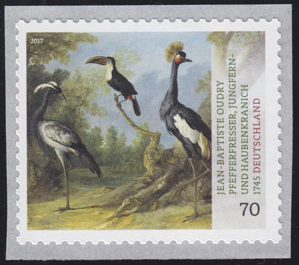 3281 Tiermaler Jean-Baptiste Oudry – Vögel, selbstklebend **