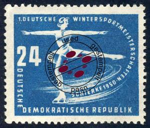 247 Wintersportmeisterschaften DDR 24 Pf O