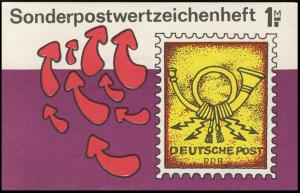 SMHD 40 Briefmarke mit Posthorn - postfrisch