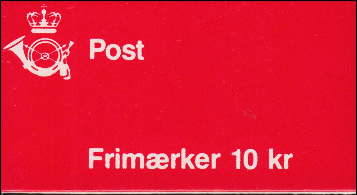 Dänemark Markenheftchen 34 Ziffern und Königin Margrethe C7, ** postfrisch