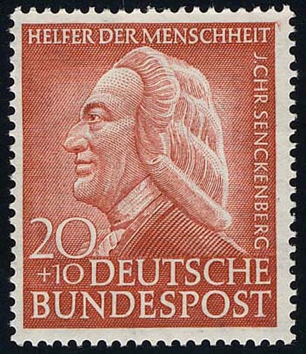 175 Senckenberg 20+10 Pf ** 0