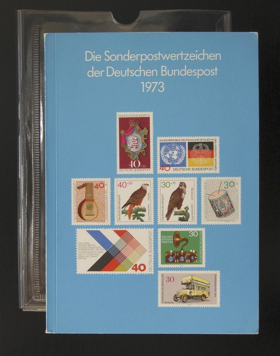 Jahrbuch Deutsche Bundespost 1973, postfrisch ** - original wie verausgabt