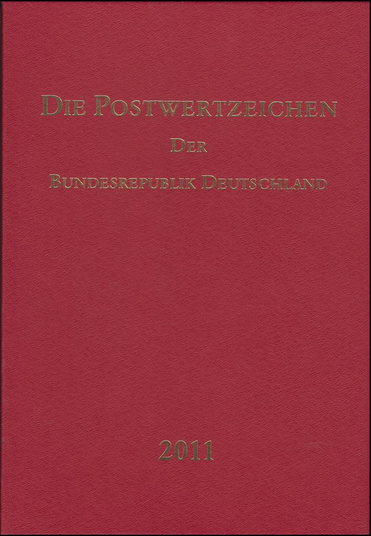 Jahrbuch Bund 2011, postfrisch komplett - wie von der Post verausgabt