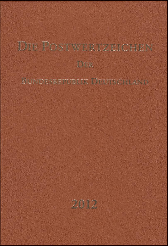 Jahrbuch Bund 2012, postfrisch komplett - wie von der Post verausgabt