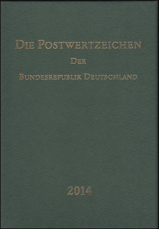 Jahrbuch Bund 2014, postfrisch komplett - wie von der Post verausgabt