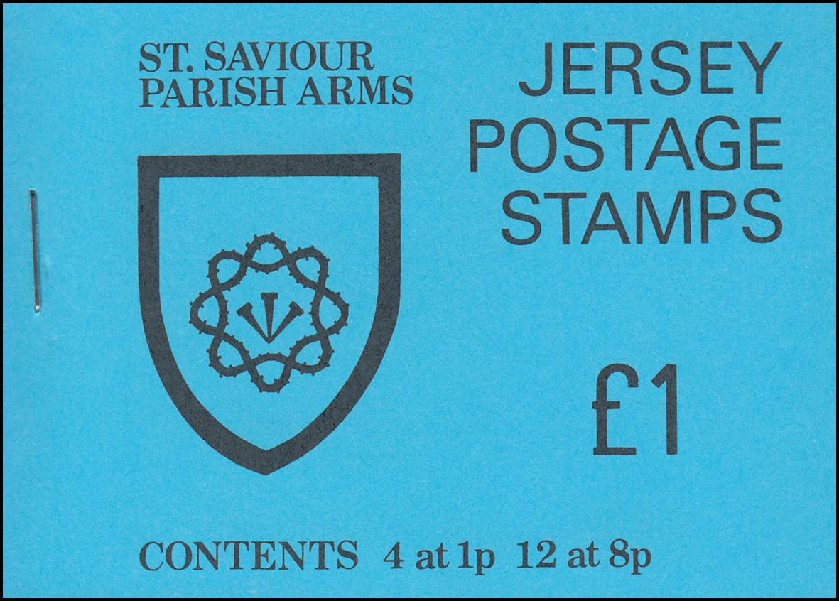 Jersey Markenheftchen 0-19, St. Savior Parish Arms, **