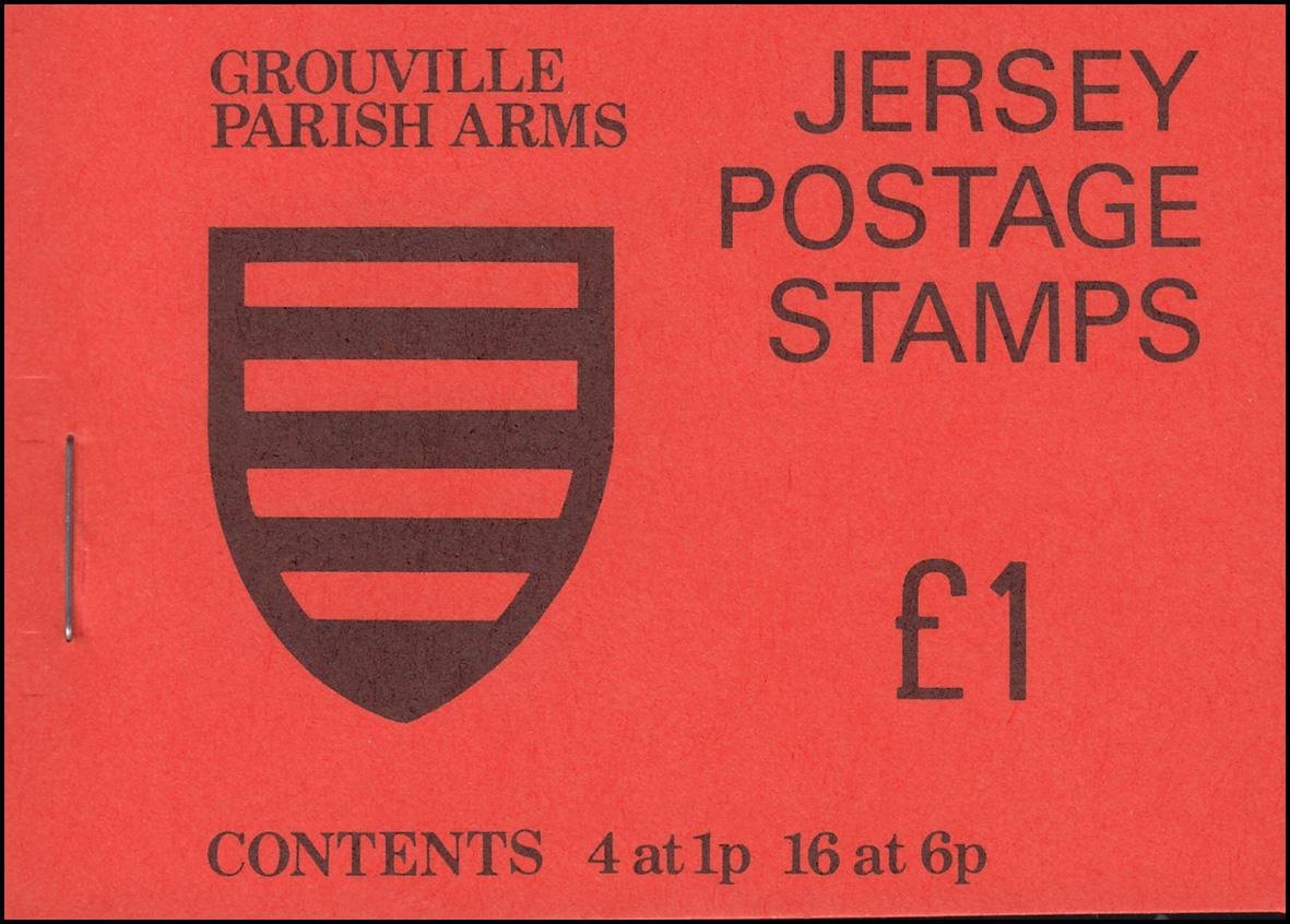 Jersey Markenheftchen 0-18, Grouville Parish Arms, **
