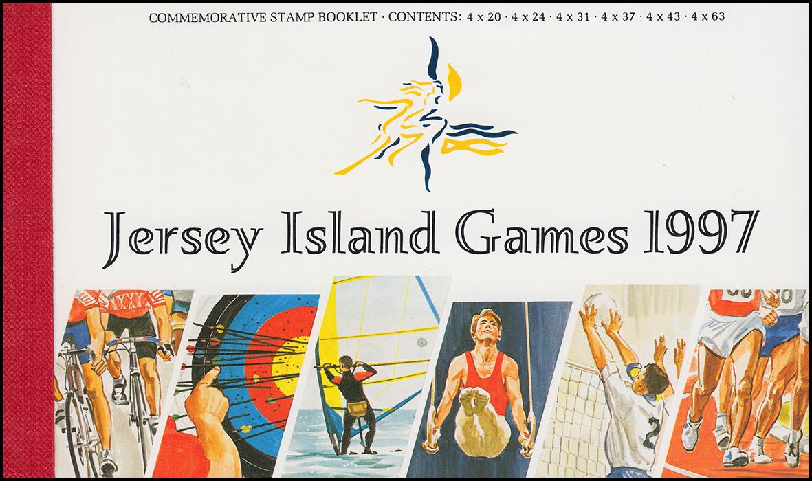 Jersey Markenheftchen 10, Sportspiele: Island Games 1997, **