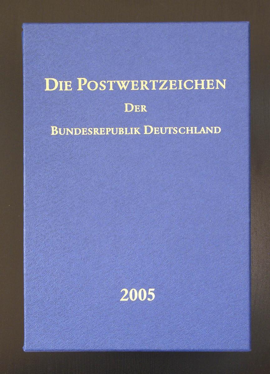 Jahrbuch Bund 2005, postfrisch komplett - wie von der Post verausgabt