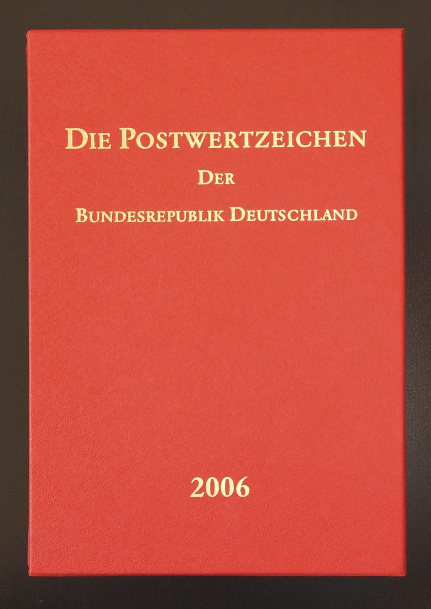 Jahrbuch Bund 2006, postfrisch komplett - wie von der Post verausgabt
