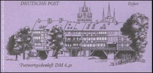 MH 10.1 Erfurt 1990 Naht fluoreszierend, postfrisch