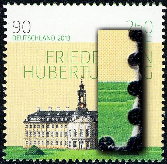 2985I Hubertusburg Marke mit UNGERADER Nummer ** postfrisch