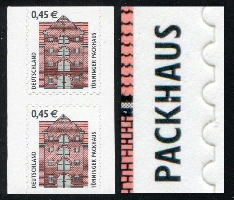 2303I SWK 45 BC/BD-Paar mit PLF III: Loch / Bruch im H von PACKHAUS, Feld 7 **