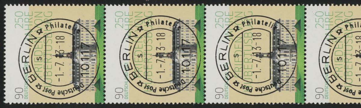 2985 Hubertusburg 5er-Streifen - UNGERADE Nummer EV-O Berlin