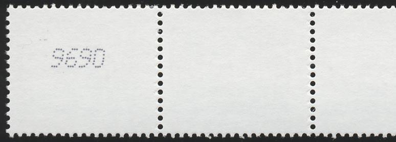 2374 SWK Euro 0,25 10000er Typ IV 5er + gerade Nr. ** postfrisch