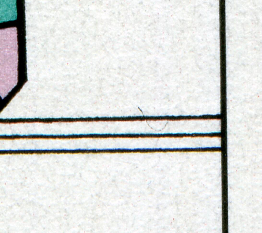 Block 35II Kinder mit PLF II sichelförmiger Bogen in der Dreierlinie rechts **