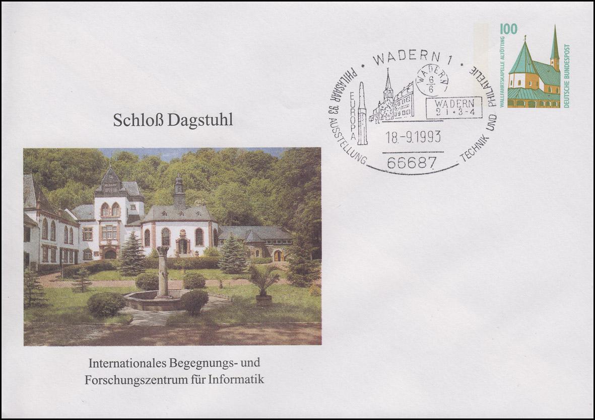 PU 290 Schloss Dagstuhl - Zewntrum für Informatik, SSt Wadern Europa 18.9.1993