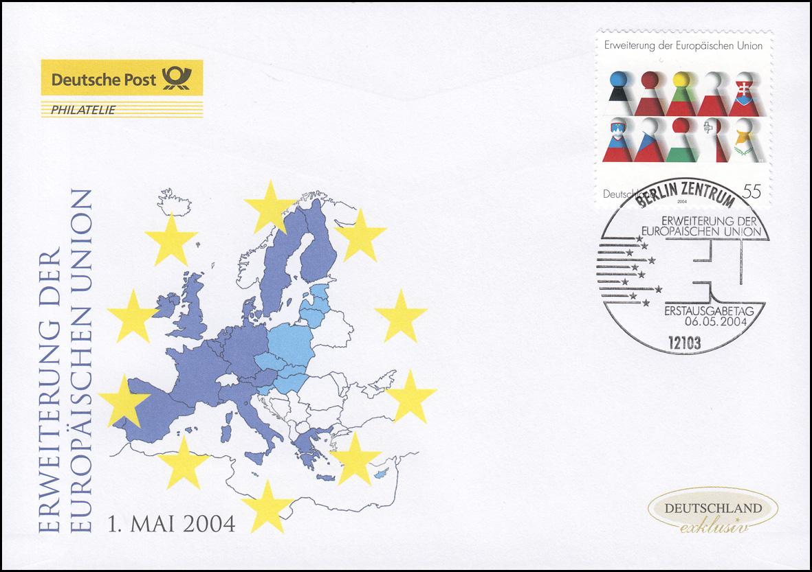 2400 Erweiterung der Europäischen Union, Schmuck-FDC Deutschland exklusiv