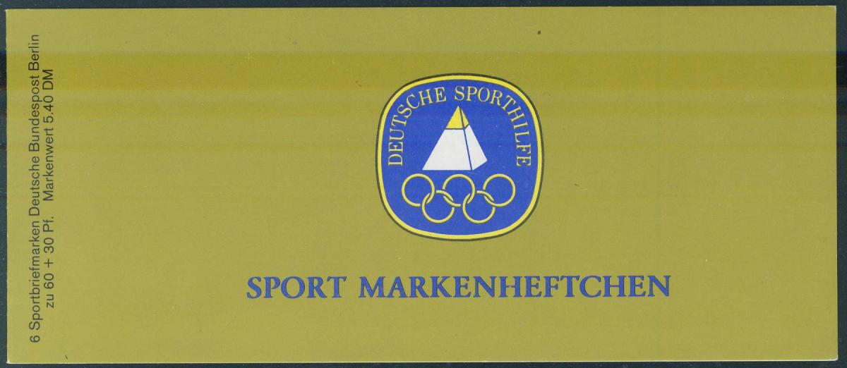 Sport 1981 Frauen-Gruppengymsastik 60 Pf, 6x645, postfrisch