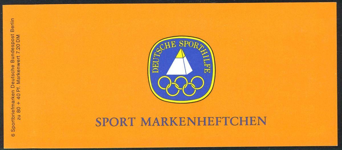 Sport 1985 Basketball 80 Pf, 6x732, ** postfrisch