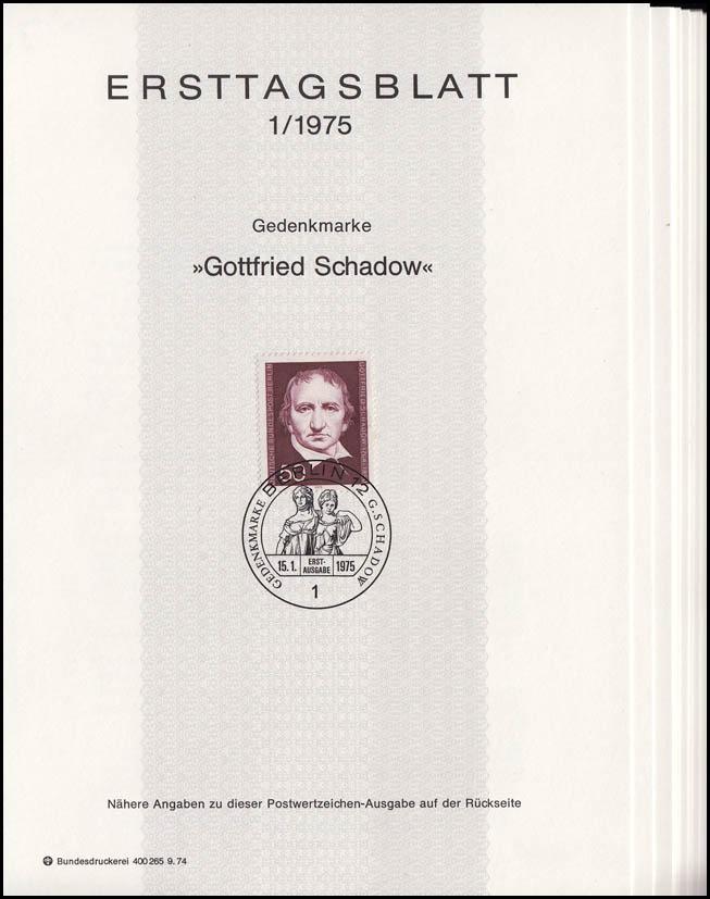 ETB Berlin Jahrgang 1975 Nr. 1 - 14 komplett